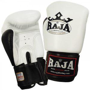 401302-boxing-gloves-raja-leather-two-color-white-black-market4sportsgr
