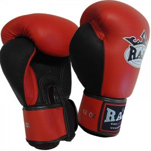 401302-boxing-gloves-raja-leather-velcro-red-black-side-market4sportsgr
