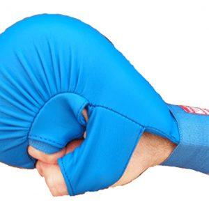 Γάντια-Κάρατε-με-Αντίχειρα-Kamikaze-με-Αναγνώριση-Rfek-Μπλε-market4sportsgr