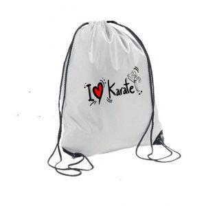 Σακίδια-Πλάτης-Λευκά-Ι-Love-Karate-leyko-market4sportsgr