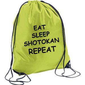 Σακίδια-Πλάτης-Eat,Sleep,Shotokan,RepeatΠράσινο-market4sportsgr