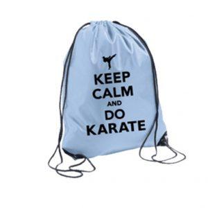 Σακίδια-Πλάτης-Keep-Calm-And-Do-Karate-Μπλε-arket4sportsgr
