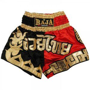 351317-thaiboxing-shorts-raja-rtb-306-dragon2-black-red-market4sportsgr