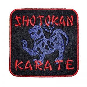 Κεντητό σηματάκι Shotokan Karate