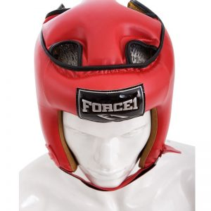 F-1037-PU-HEAD-GUARDS-RED-II-kaskes-kick-boxing-stayro-market4sportsgr