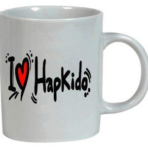 Κούπα λευκή 11oz I Love Hapkido111116