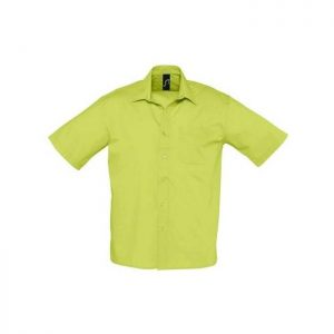 sol-s-bristol-16050-ανδρικό-πουκάμισο-65-πολυεστέρας-35-βαμβάκι-prasino-milo-market4sportsgr